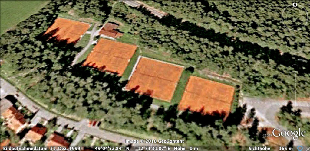 Sportanlage Google Earth